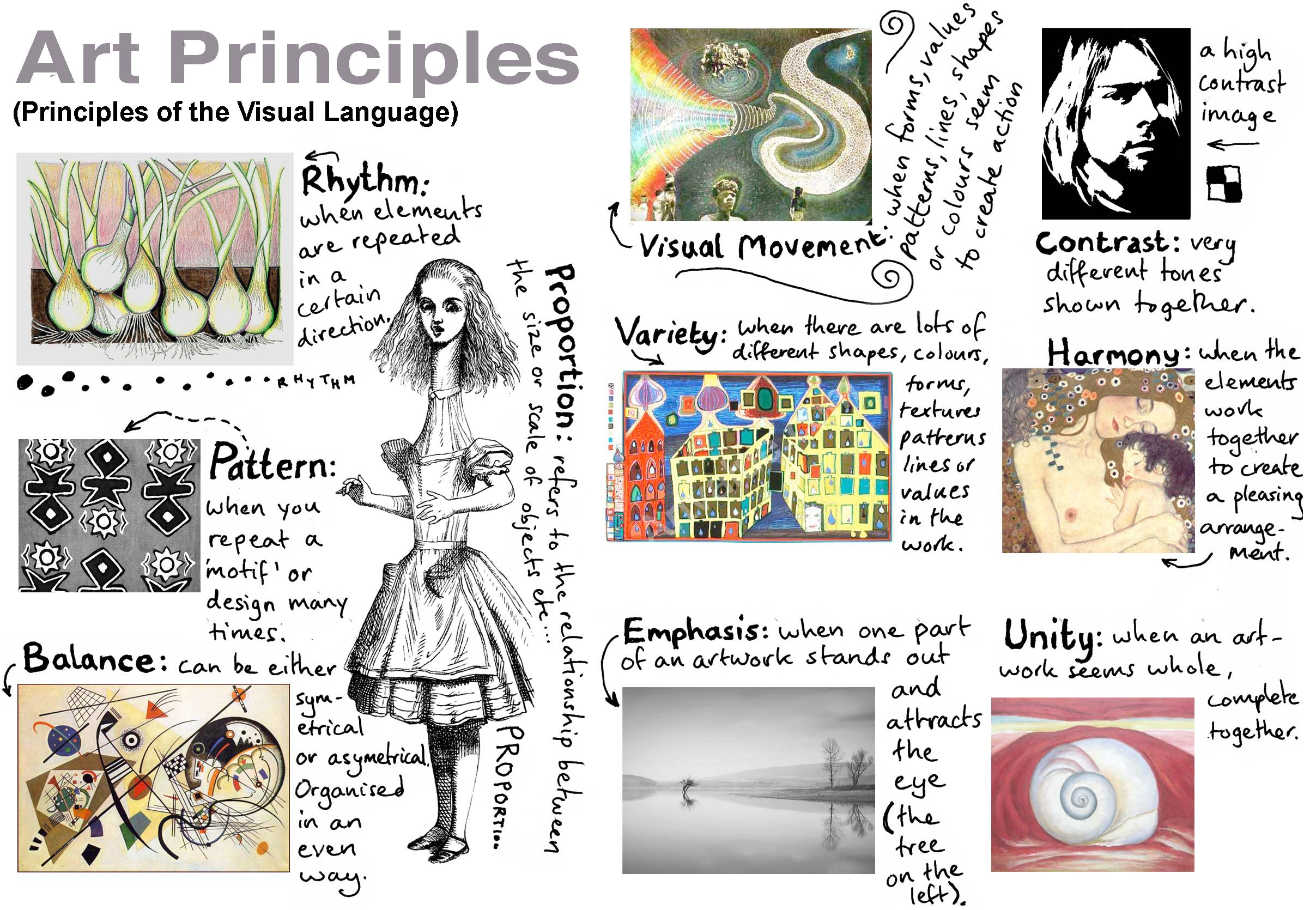 Elements Principles Of Art : Art one smartin